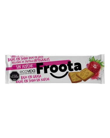 galleta de frutilla